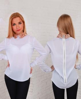 Белая Блузка Купить Носим