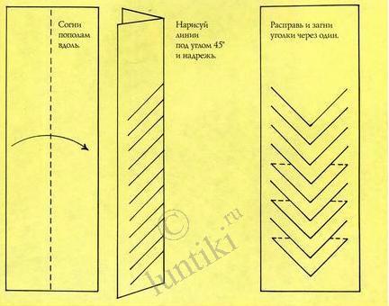 Плетеная закладка для книги из бумаги своими руками