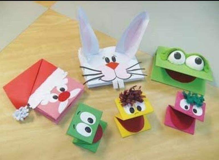 Поделки из бумаги для детей своими руками фото