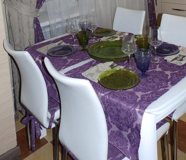 столовая -гостиная