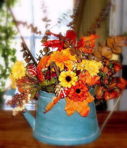 Осенний букет своими руками в школу фото легкие в приготовлении