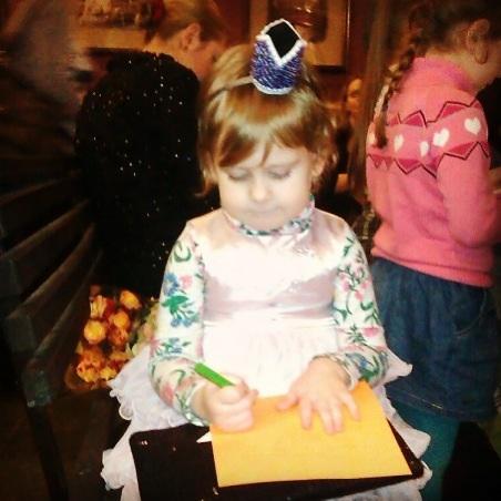 Корона из бисера для принцесс