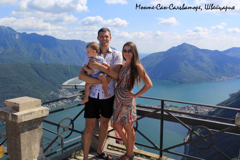 Летний европейский трип 2013 с годовасиком. Часть 7. Менаджио и озеро Лугано