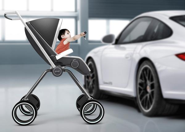 детская коляска porsche