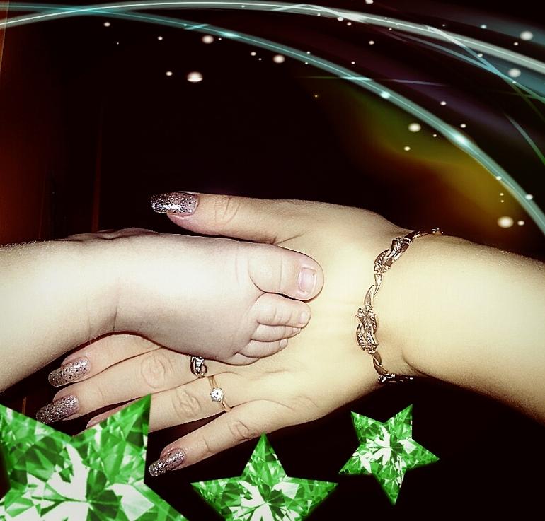 наши ручки и ножки)))