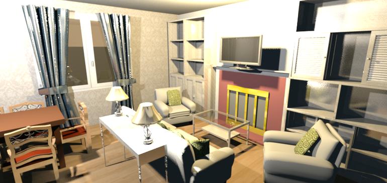 Как правильно расставить мебель в зале 18 кв.м