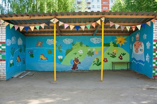 Поделки для детской веранды в детском саду