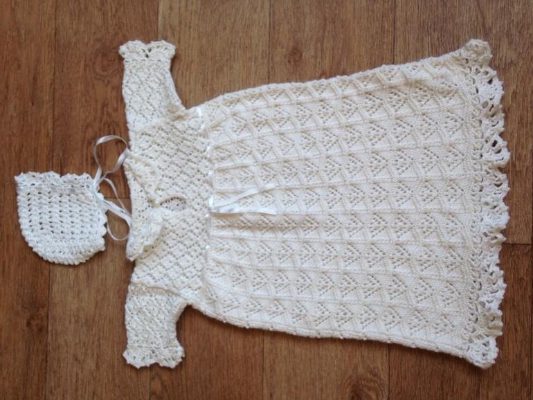 Крестильное платьице для моей крестницы