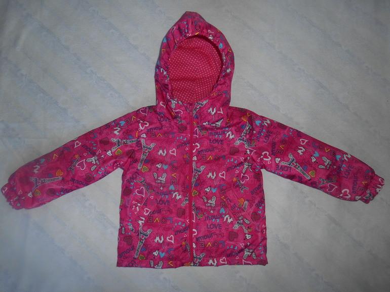 Ещё одна курточка дочке .