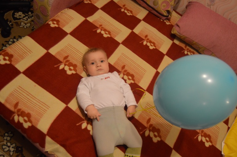 какими мы стали к 7 месяцам))