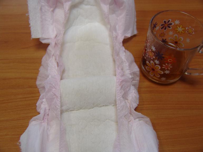 ЭКО ТРУСИКИ ДЛЯ ДЕВОЧЕК, размер L (10 - 14 кг), 36 шт. в упаковке
