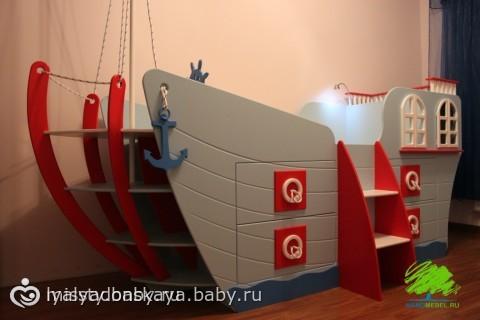 Кровать корабль своими руками