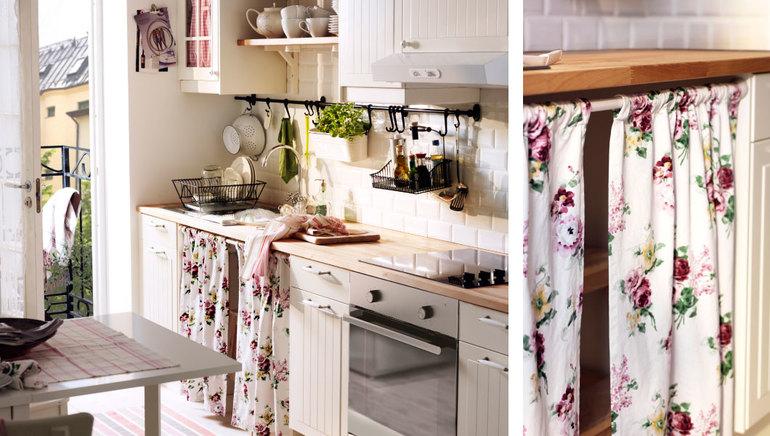 Ткани для кухни прованс