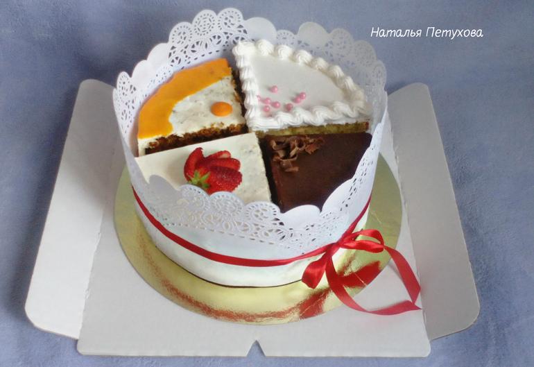 Фото иы разных тортов