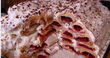 торт дрова под снегом фото рецепт пошаговый