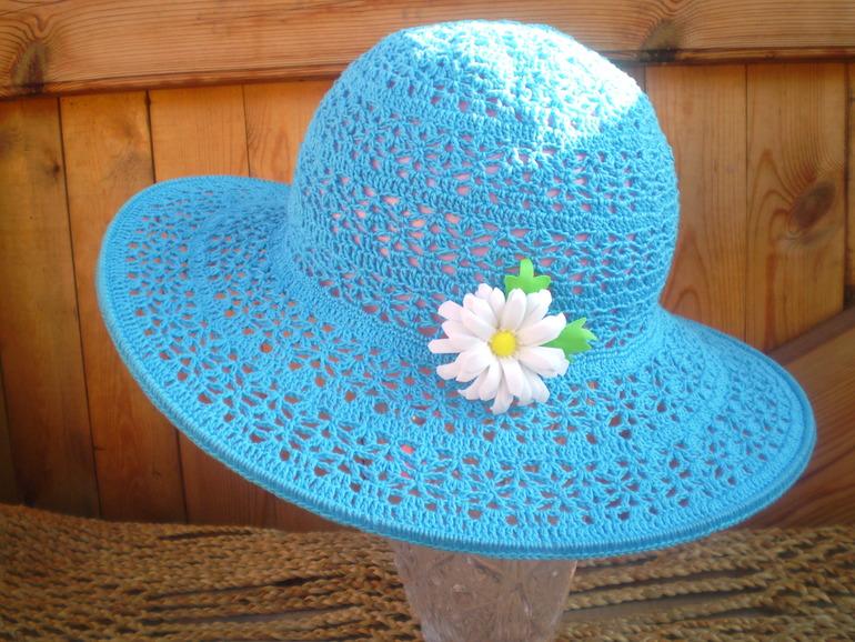 Крючком ютуб шляпы