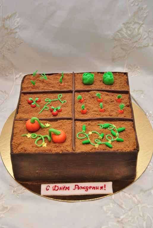 Как сделать самому торт бабушке на день рождения