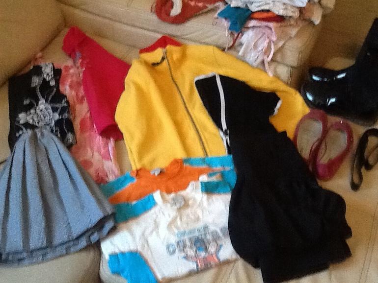 Вещи  для  девочки  на  рост  122  до  134  м.  щелковская