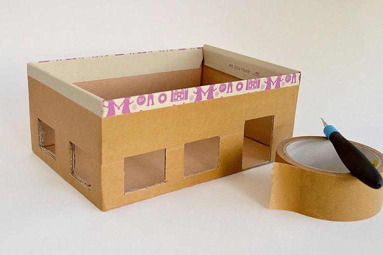 Макеты коробок своими руками
