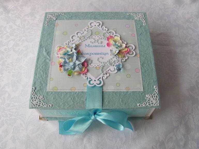 Как сделать своими руками коробочку мамины сокровища - Hasck.ru