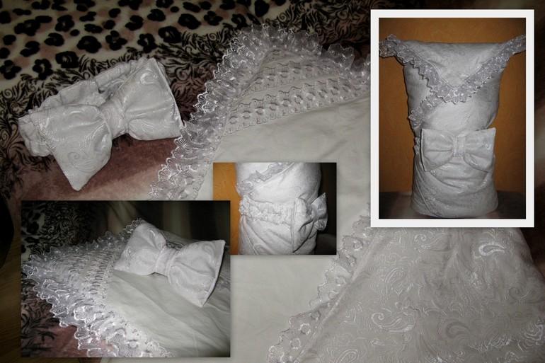 Мастер класс одеяло на выписку своими руками