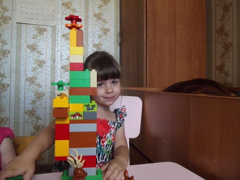 """Нас выбрали участниками тест - драйва LEGO DUPLO """"Лесной заповедник"""""""