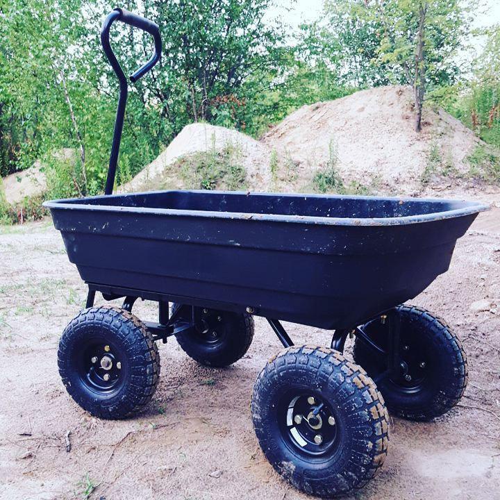 Садовая тележка-самосвал Westman 250