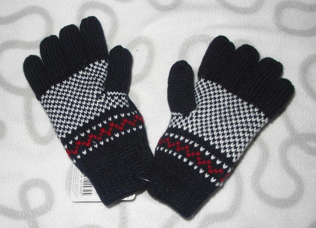 Новые зимние перчатки Mothercare, 2-3 года