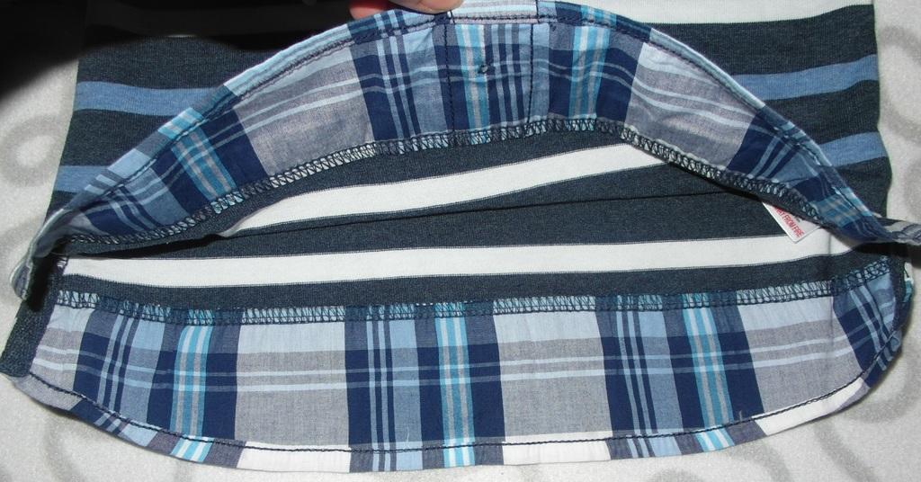 Новый джемпер с рубашкой-обманкой Next, 98-104 см