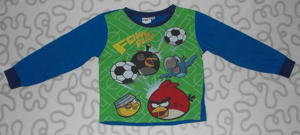 Пижама Angry Birds, 104-110 см