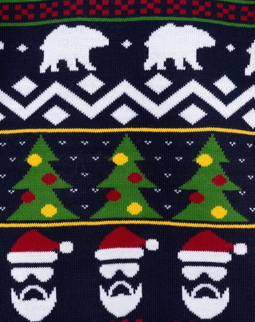 Джемпер новогодний Kaftan, 122-128 см