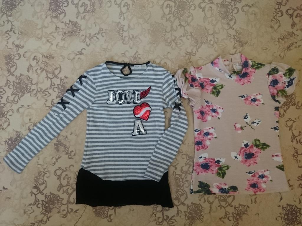 Вещи для девочки р.134-140