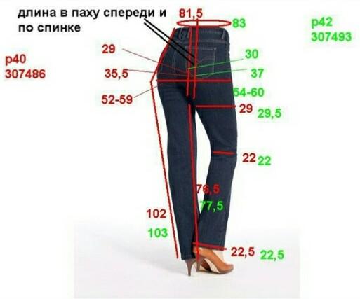 Новые джинсы Esmara, нем.р.42