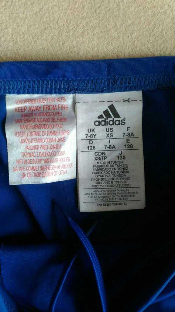 Плавки Adidas, p.122-128