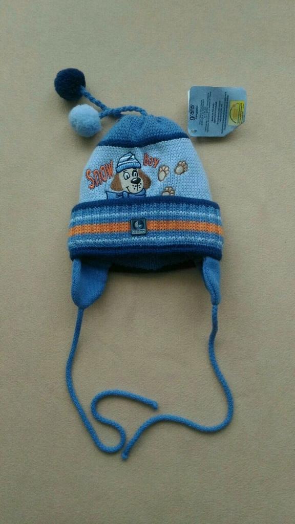 Зимняя шапка Grans, 2-4г