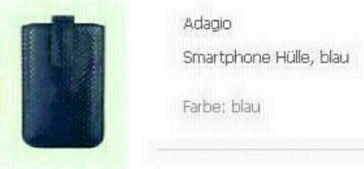 Кошелек и чехол для телефона Adagio
