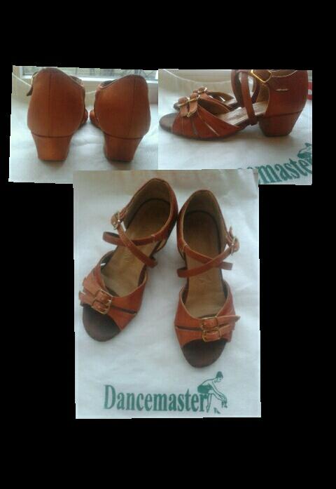 Профессиональные туфельки и купальник для танцев!
