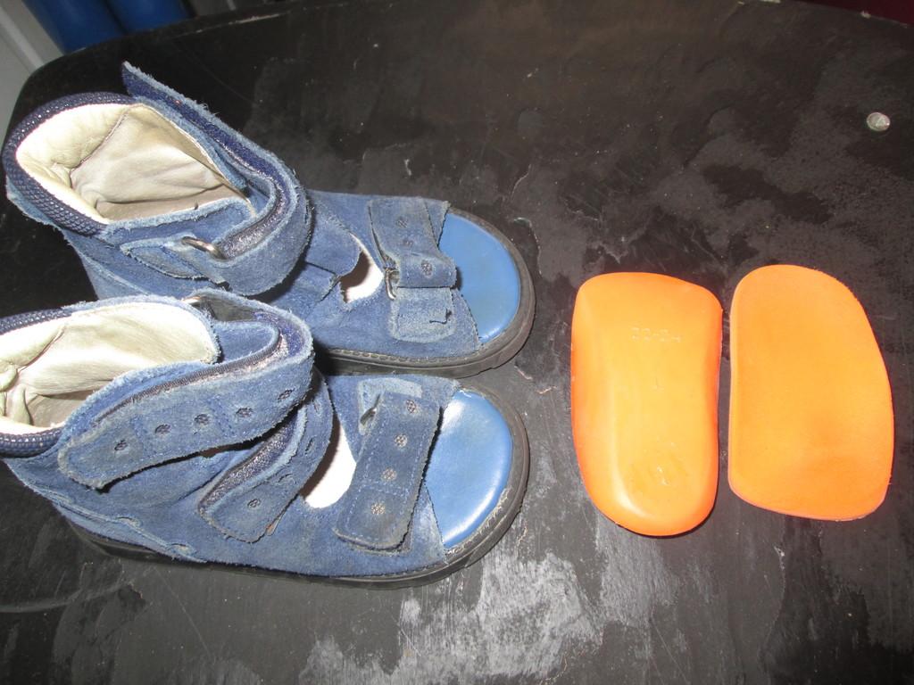 Ортопедическая обувь MEMO 22 раз.