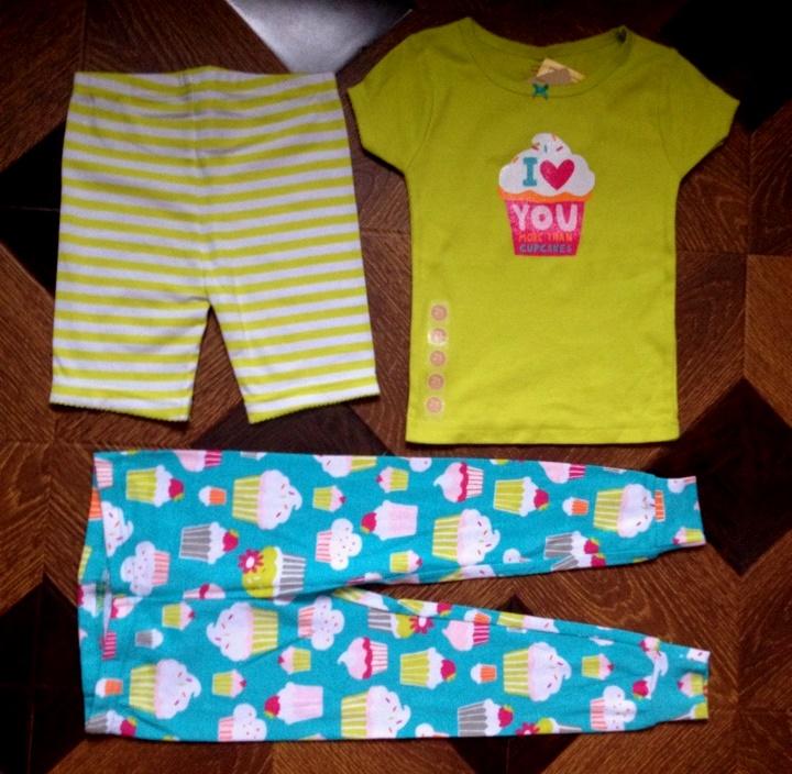Пижама с капкейком (новая)