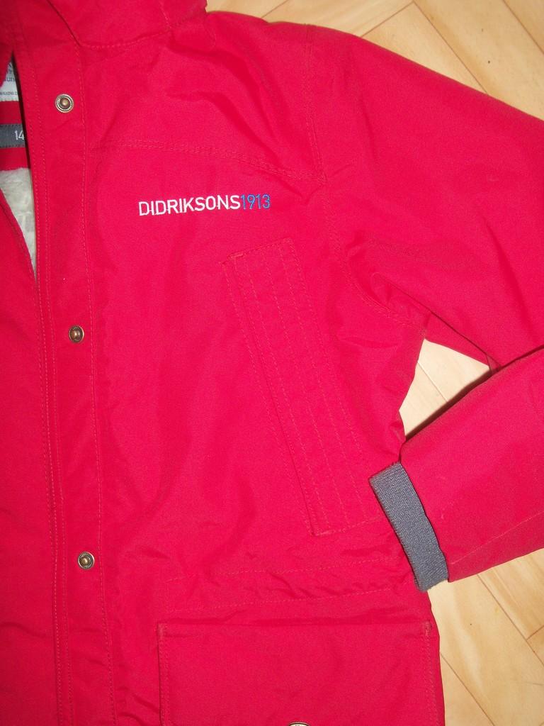 Куртка Didriksons Tindra зима б/у р.140