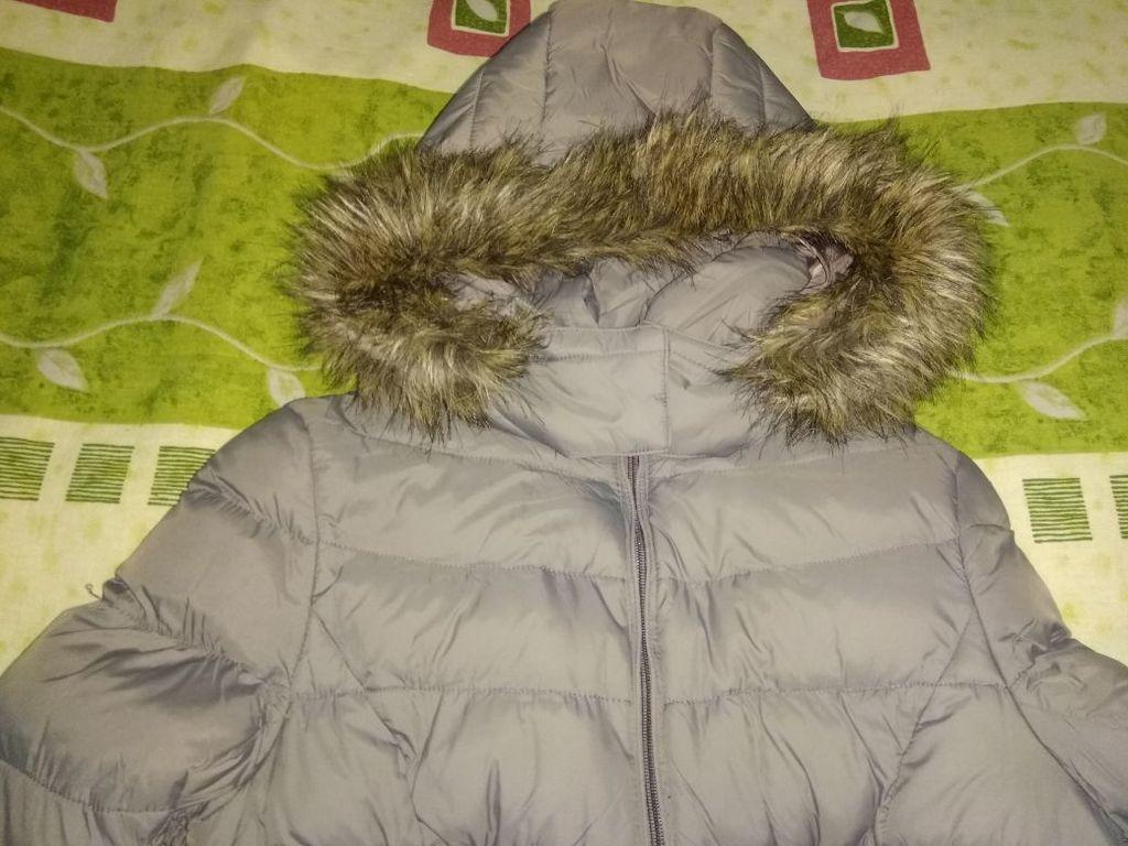 Куртка фирме Камея цвет серо-сиреневый р.42-44, ес