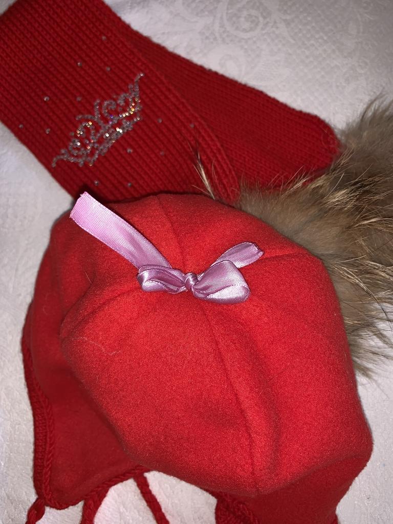 шапка+шарф ог 51-53