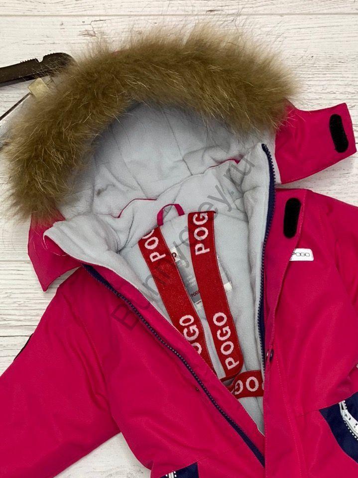 Зимний комбинезон для девочки Pogo tec 80+6