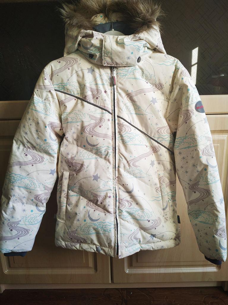 Практически новый зимний костюм Huppa 134