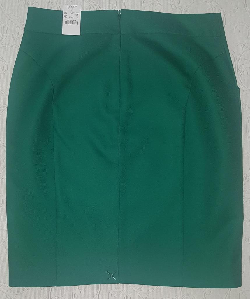 Хлопковая юбка карандаш JCrew р. 10US (на 46 рос.)