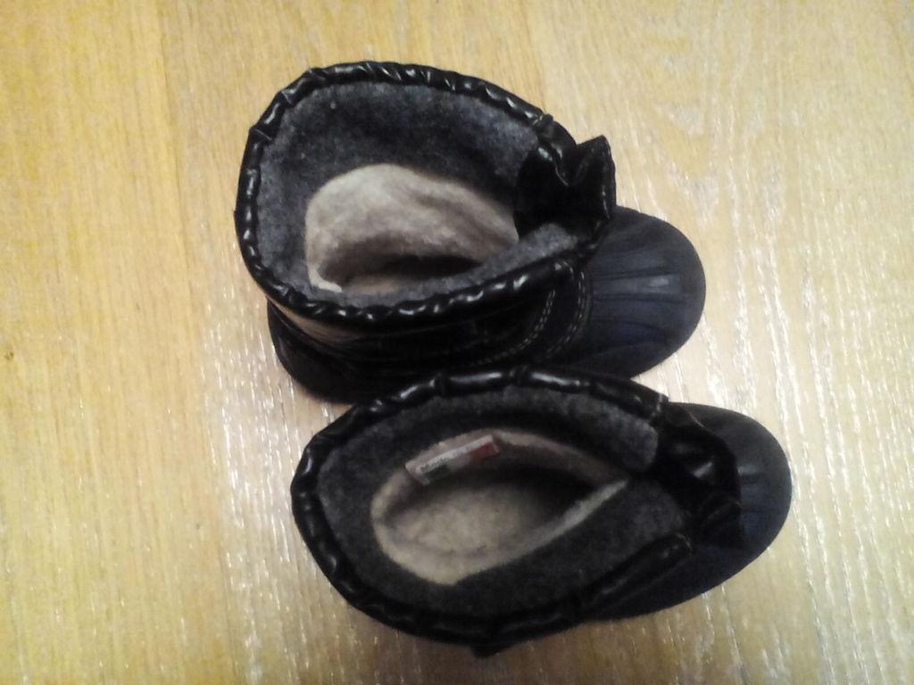 Зимние сапоги Skandia 21-22 резиновая калоша