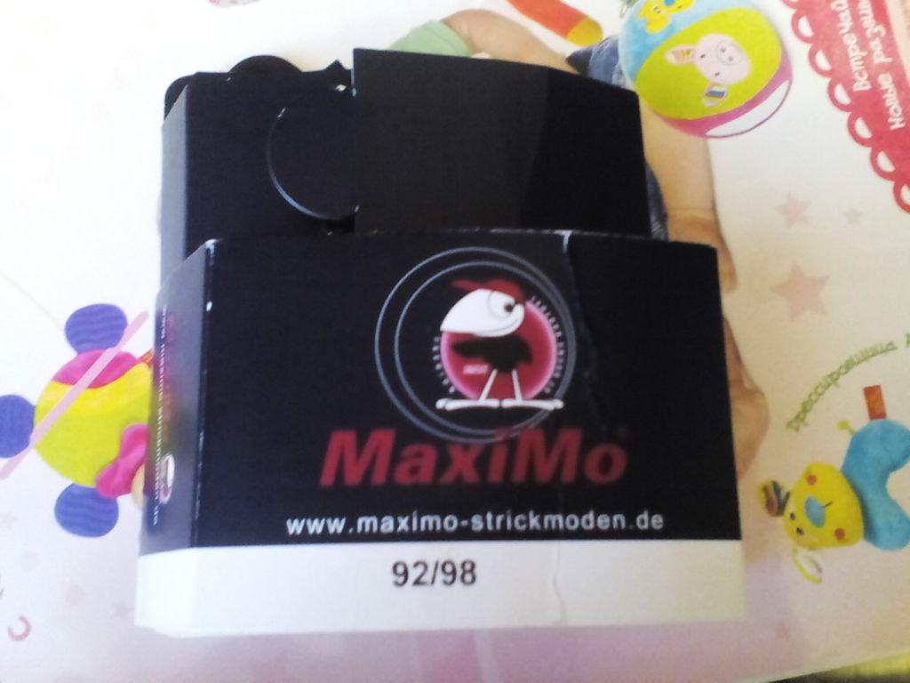 Махровые колготки размер 92-98 MaxiMo Германия