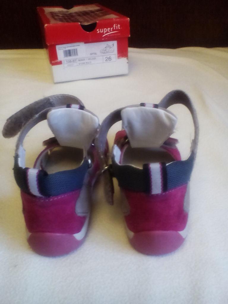 Superfit сандалии р.26 17 см как новые