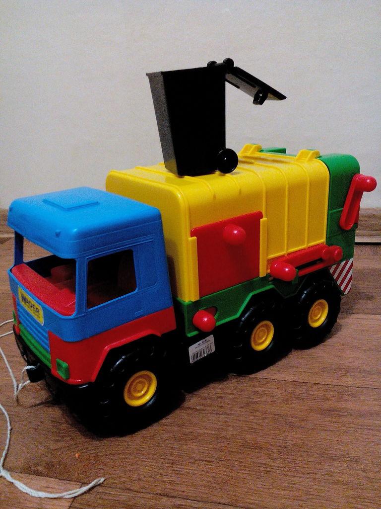 Машина-мусоровоз wader Машины серии Middle Truck