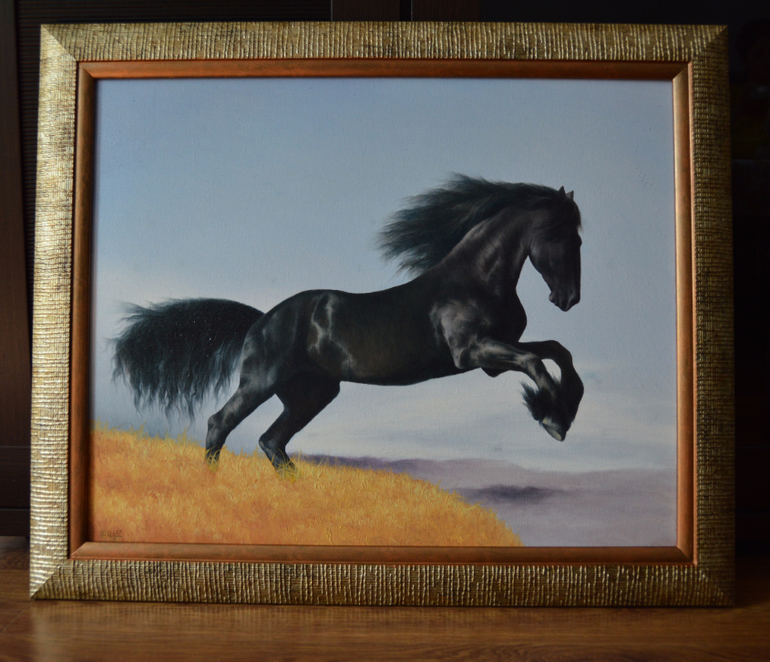 """""""Черная лошадь"""""""